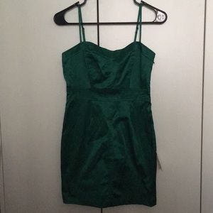 NWT Forever 21 Emerald Mini Dress sz Small💚